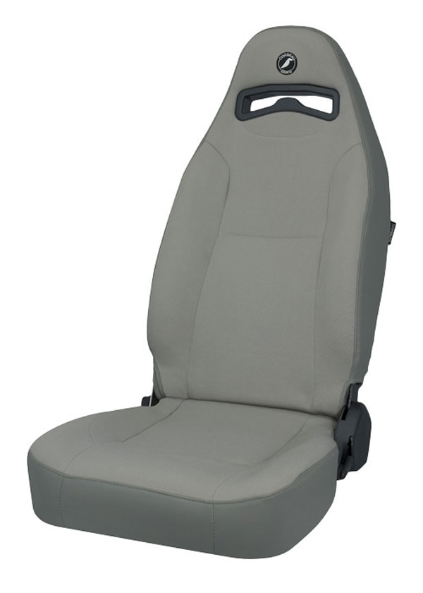 Corbeau 70099:  Moab Reclining Seat in Grey Vinyl / Cloth (Sold in Pairs, Price is for 2 Seats)