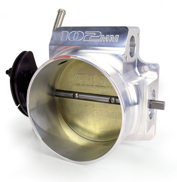FAST 54102 | 102MM Throttle Body For LSX Intake; 2006-2009