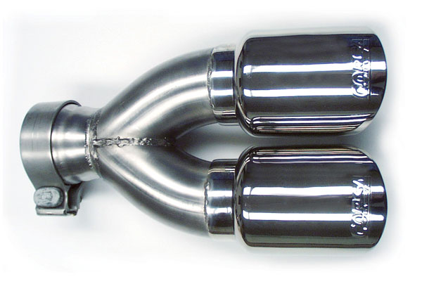 Corsa Performance 14035 | CORSA Trailblazer Tip Kit Exhaust 4.2L -; 2001-2005