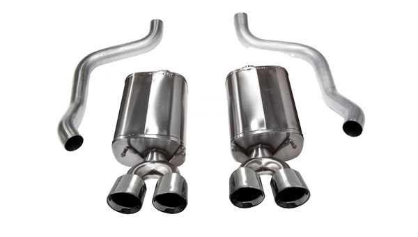 Corsa Performance 14108 | Corsa C6 Corvette Sport Exhaust System with Twin 3.5 Pro-Series Tips; 2009-2013