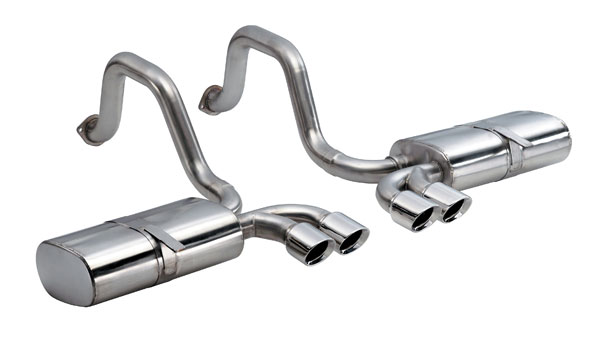 Corsa Performance 14111 | Corsa C5 Corvette Sport Pace Car Exhaust w/Pro Tips; 1997-2004