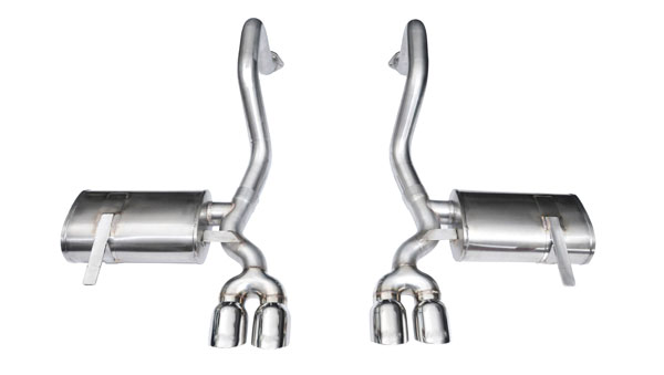 Corsa Performance 14132 | Corsa Exhaust System for Corvette C5 (includes Z06) Xtreme System w/ Twin 3.5 Pro Series Tips; 1997-2004