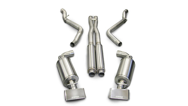 Corsa Performance 14138 | Corsa Exhaust Dodge Challenger 6.1L SRT-8 with GTX Style Tips; 2008-2010