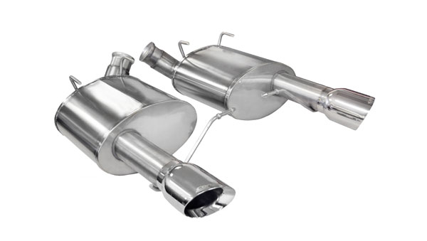 Corsa Performance 14316 | Corsa Mustang 5.0L Sport System with 4.0 Pro-Series Tips V8; 2011-2011