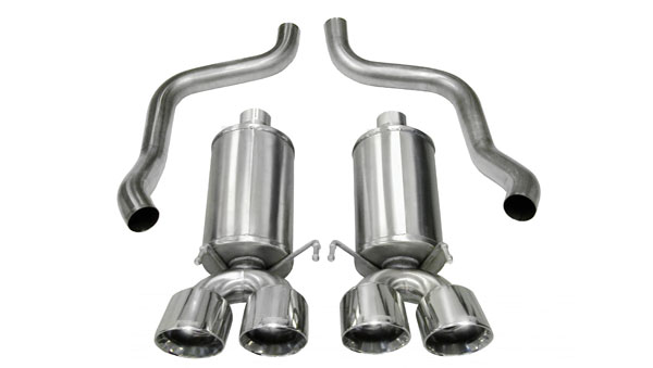 Corsa Performance 14470: Corsa C6 Corvette 2009-13 XTREME Exhaust System with Twin 3.5 Pro-Series Tips (4)