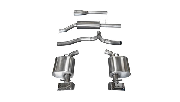 Corsa Performance (14472) Corsa Exhaust Sport 2011-14 Dodge Challenger V6 GTX2 Tips