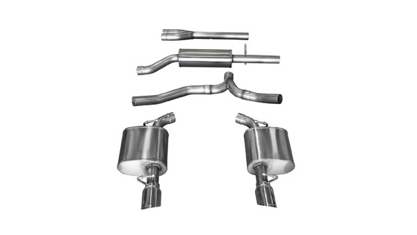 Corsa Performance (14476) Corsa Exhaust Sport 2011-14 Chrysler 300 V6 Pro-Series Tips