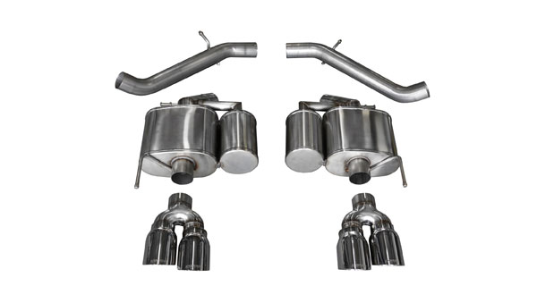 Corsa Performance (14478) Corsa Exhaust Axle-Back System w/Twin Pro-Series 4.0 inch Exhaust Tips 2016-2018 Cadillac ATS-V - Sport