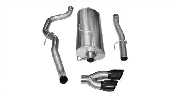 Corsa Performance 14482BLK: CORSA Dodge Ram Cat-Back Exhaust 2500 Mega Cab/Short Bed 5.7L V8 Sport 2010 - 2013 3 Inch Single Side Exit with Twin 4 Inch Black Pro-Series Tips