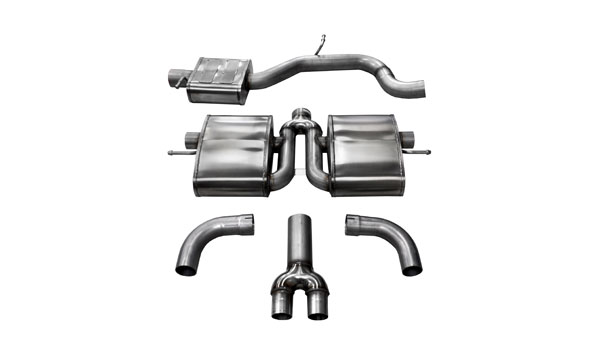 Corsa Performance 14509 | Corsa Audi TT RS Cat-Back System 3in - Sport Edition; 2006-2014