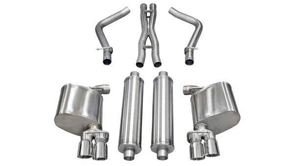 Corsa Performance 14522 | Corsa Exhaust Xtreme Dodge Charger 5.7L Hemi; 2011-2014