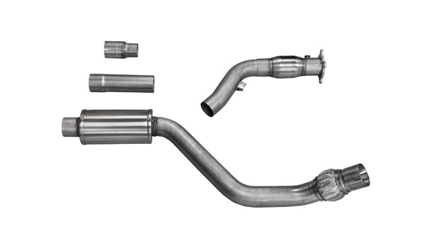 Corsa Performance 14530 | Corsa Audi A4 B8 2.0T Cell 3in Downpipe, 2009-2014