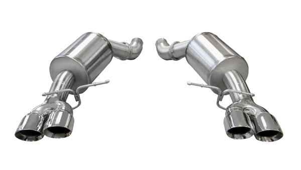 Corsa Performance 14556: Corsa BMW M5 2005-2008 Axle-back system, with Quad 3.5 Rear Exit Pro-Series Tips - Sport Edition