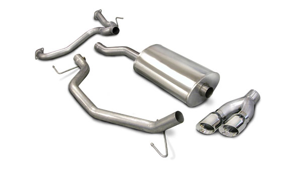 Corsa Performance 14581: Corsa Exhaust Titan 5.6L KC & CC 2007-08 RSC -Single Side exit w/Twin Pro-Series 4.0 Tips