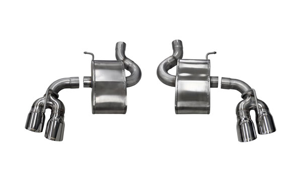 Corsa Performance 14786: Camaro 2016 SS Sport Axle-Back Exhaust Quad Polished Tips