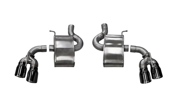 Corsa Performance 14786BLK: Camaro 2016 SS Sport Axle-Back Exhaust Quad Black Tips