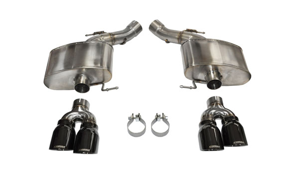 Corsa Performance 14929BLK | Corsa BMW M6 2012-17 Axle-back system, with Quad 4in Rear Exit Black Pro-Series Tips - Sport Edition