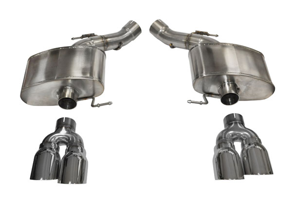 Corsa Performance 14934: CORSA BMW M5 Axle-Back Exhaust F10 Sport 2012 - 2013 3 Inch Axle-Back, Dual Rear Exit with Twin 4 Inch Polished Pro-Series Tips