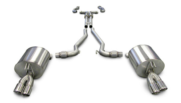 Corsa Performance 14950: Corsa 2008-09 Pontiac G8 / GXP Dual Rear Exit with Twin 3.0 Pro-Series Tips