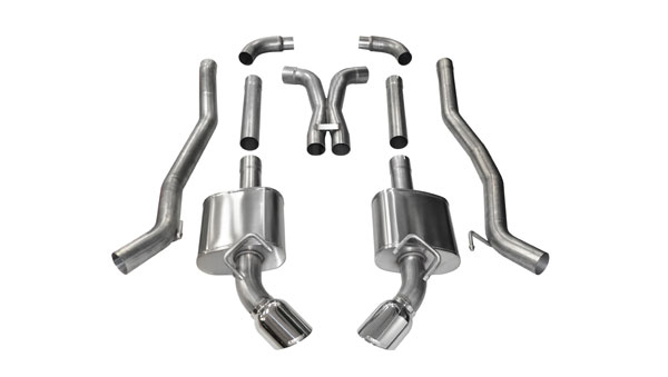 Corsa Performance 14968: Corsa 2010-15 Camaro SS Extreme Exhaust System with 4.5 inch tips XO-Pipe - LS3 w/ 6-Spd Manual