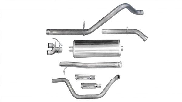 Corsa Performance 24906 | CORSA 2009 Silverado/Sierra 1500-dB EC STB CC SB 4.8L & 5.3L Dual Rear Exit