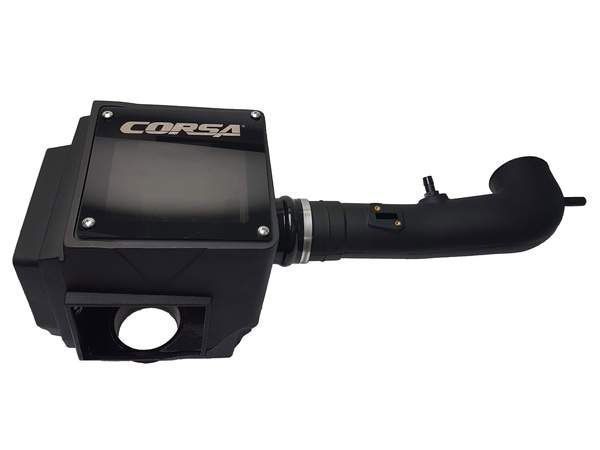 Corsa Performance 455536 | Corsa Chevrolet Silverado 5.3L Closed Box Air Intake With Donaldson Powercore Air Filter; 2014-2019