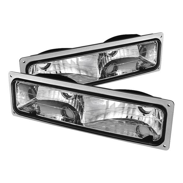 xTune CPL-JH-CCK94-E |  Chevrolet C/K Series / GMC C/K Series 94-99 Bumper Lights - Euro