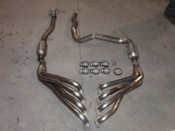 Stainless Works CT6.0:  Chevy/GMC Truck 2003-06 Headers 4WD with Converters