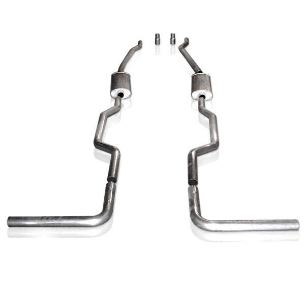 Stainless Works CT67725TS:  Chevy/GMC Truck 1967-87 Exhaust 2.5'' Turbo Muffler System