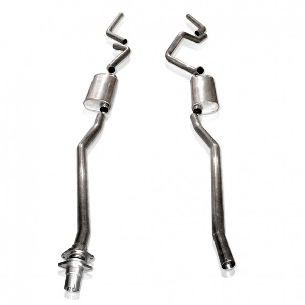 Stainless Works CT9806CT:  Chevy/GMC Truck 1999-06 Exhaust 2.5'' Chambered Catback