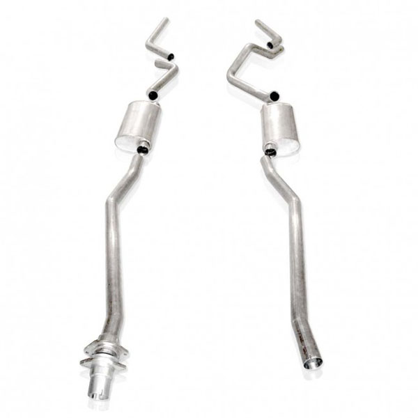 Stainless Works (CT9806SECT)  Chevy/GMC Truck 1999-06 Exhaust 2.5'' Chambered Catback