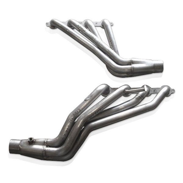 Stainless Works CT9902:  Chevy/GMC Truck 1999-02 Headers 4WD with Converters