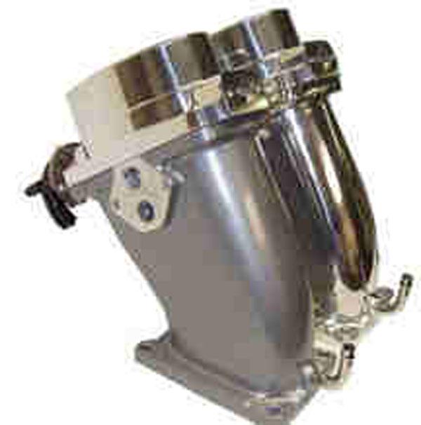 Accufab CTB2003    Oval Cobra Throttle Body & Power Inlet 4V Cobra V8; 2003-2004
