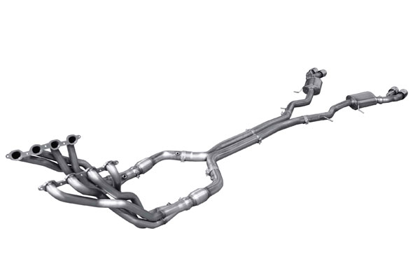 American Racing Headers CTSV-16200300FSHNC: Cadillac CTS-V 2016-2017 2 in x 3 in, H-Pipe, Muffler with Tips, Full System NO Cat