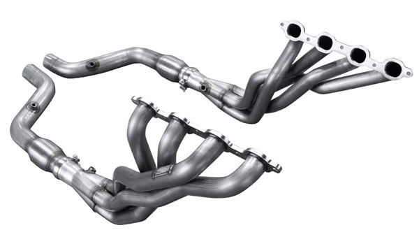 American Racing Headers (CTSV-16134300SSNC)  Cadillac CTS-V 2016-2017 1-3/4in x 3in, Connection Pipe NO Cats, Short System