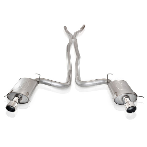 Stainless Works CTSVEHX |  Cadillac CTS-V 2004-07 Exhaust Catted X-Pipe for SW Headers