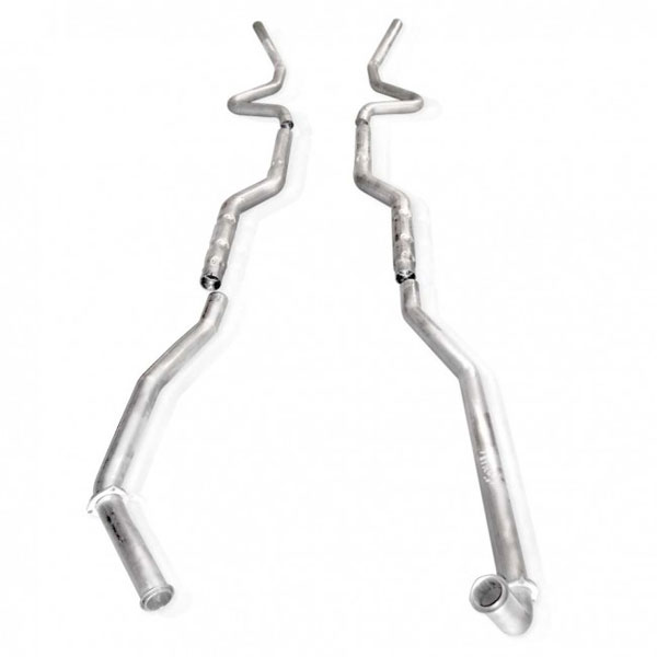 Stainless Works CV67820A |  Chevy Monte Carlo Big Block Aluminized No Resonators; 1968-1972