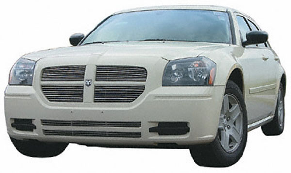 Carriage Works CW42272:  Lower Bumper Billet Polished Grille 2005 Magnum