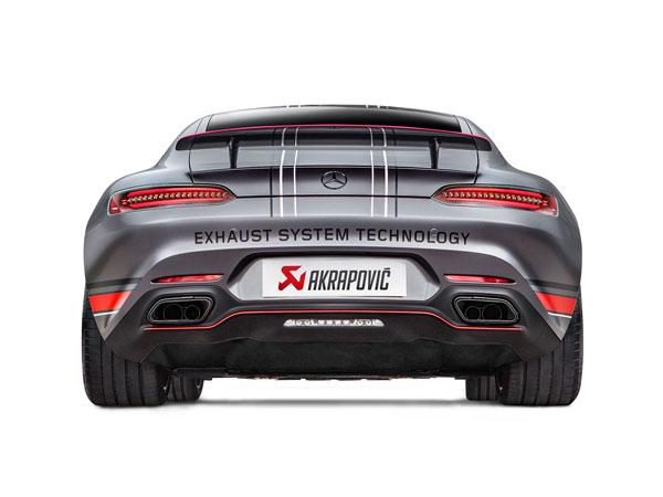 Akrapovic MTP-ME/T/4H |  Mercedes-AMG GT (C190) / GT S (C120) Evolution Line (Titanium), 2015-2017