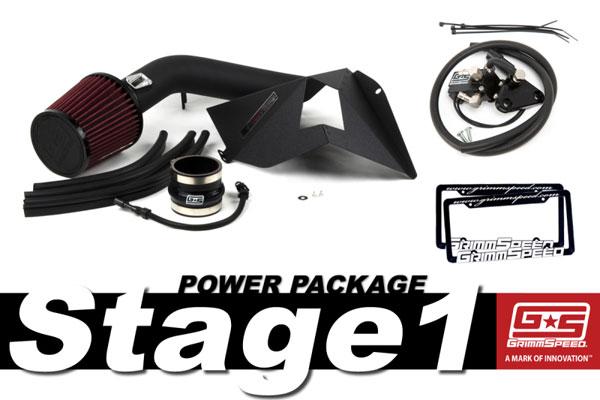 GrimmSpeed 191010 | Grimmspeed Stage 1 Power Package - 15+ Subaru WRX; 2015-2020