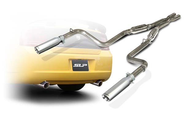 SLP Performance D31000 | SLP Loudmouth Exhaust Charger V8 Cat-back System; 2005-2010