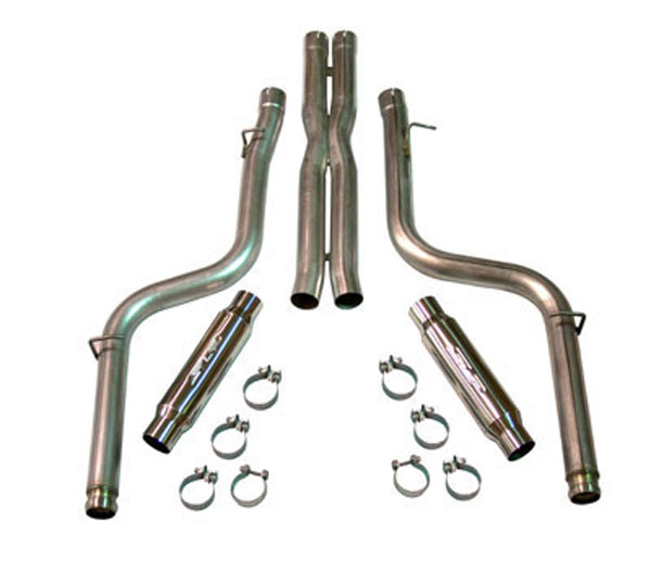 SLP Performance D31029: SLP Loudmouth Exhaust Challenger 2008-14 5.7L Cat-back System use w/stock exhaust manifolds