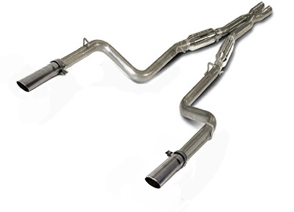 SLP Performance D31041: SLP Loudmouth II Exhaust Charger 5.7L HEMI 2011-13 Cat-back System use w/stock exhaust manifolds