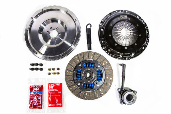 DKM Clutch MB-034-142 | 2.0 TDI VW Sprung Organic MB Clutch Kit w/Steel Flywheel