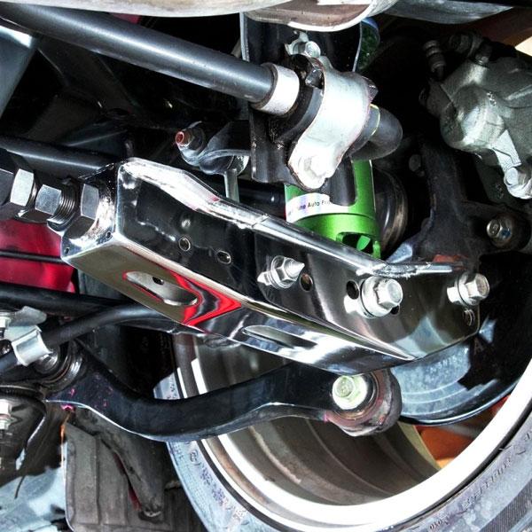 Blox Racing bxss-50010-cp | BLOX Racing Rear Lower Control Arms - Chrome (2013+ Subaru BRZ/Toyota 86 / 2008+ Subaru WRX/STI)