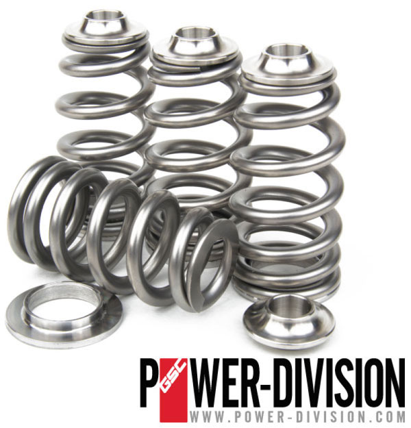 GSC Power Division 5058 | GSC P-D Mitsubishi 4G63t Beehive Valve Spring and Ti Retainer Kit