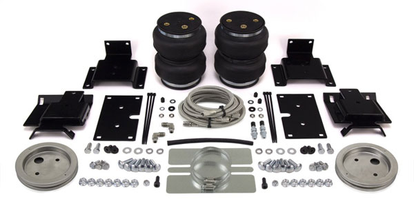 Air Lift 89365 | Loadlifter 5000 Ultimate for 09-17 Dodge Ram 1500 w/ Stainless Steel Air Lines; 2009-2017