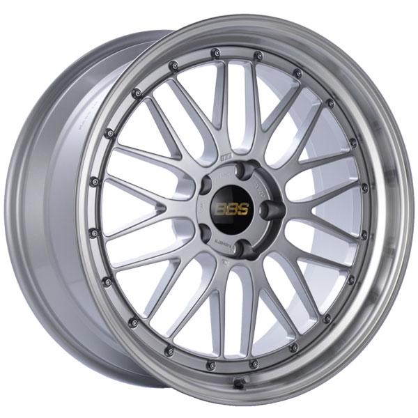 BBS LM225DSPK | LM 20x9 5x120 ET15 Diamond Silver Center Diamond Cut Lip Wheel -82mm PFS/Clip Required