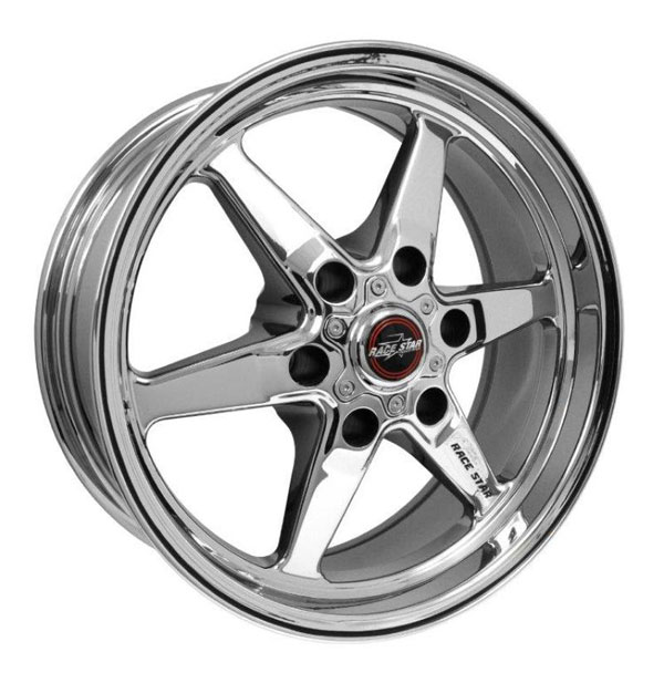 Race Star 93-770847C   93 Truck Star 17x7.00 6x5.50bc 4.00bs Direct Drill Chrome Wheel