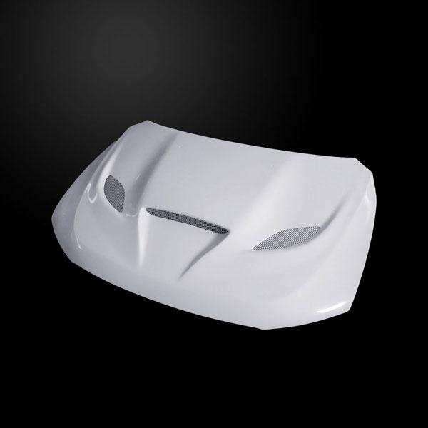 Amerihood DD11AHCATFHW |  Dodge Durango Type-HC Style Functional Heat Extractor Ram Air Hood; 2011-2017